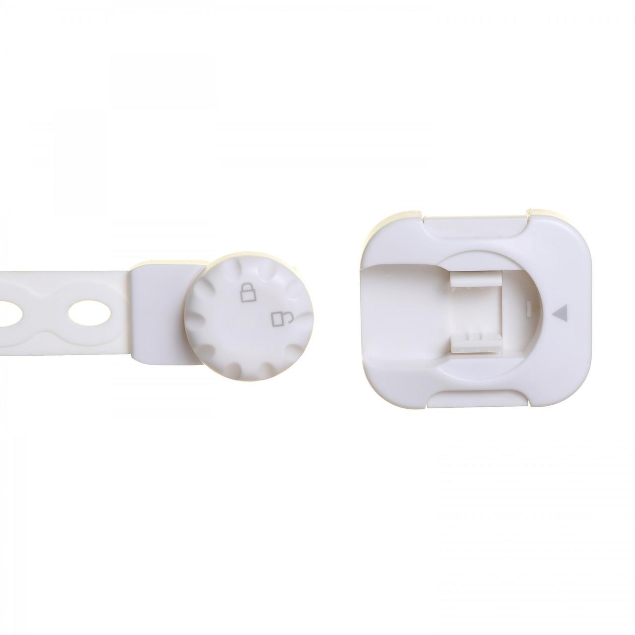 Dreambaby Twist 'N Lock Multi-Purpose Latch 2pk White