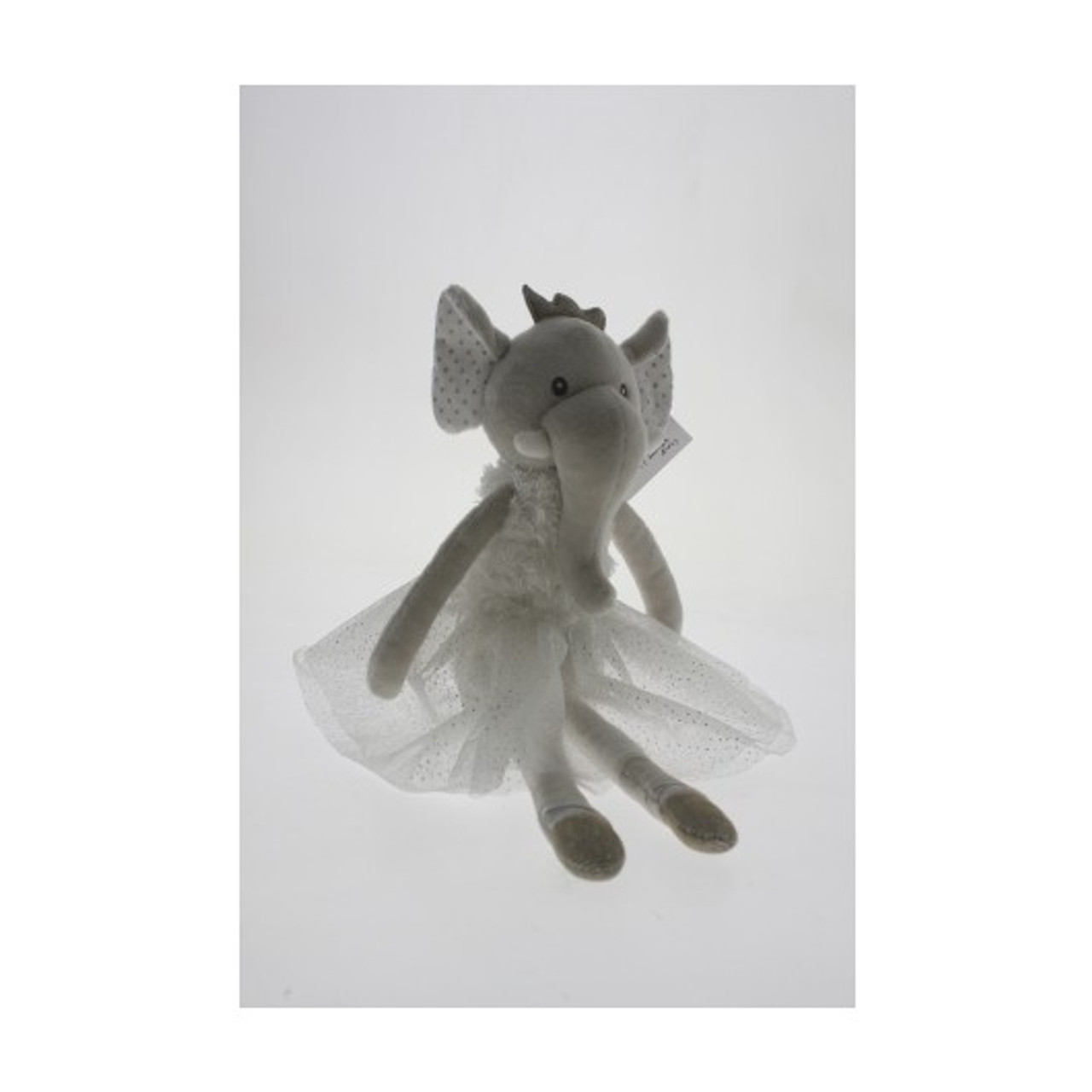 RR03 35cm Elephant Ballerina Plush