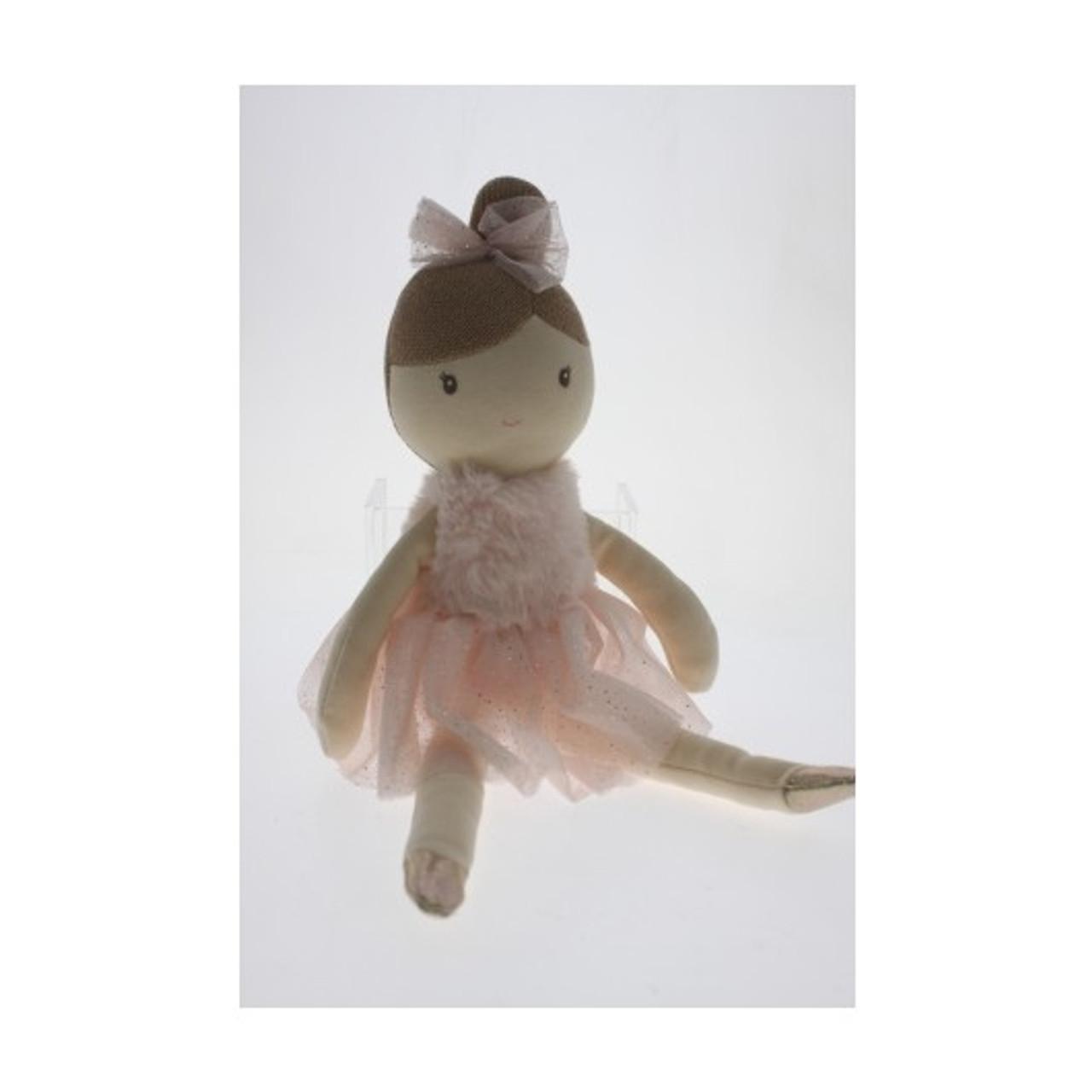RR05 35cm Ballerina Doll Plush