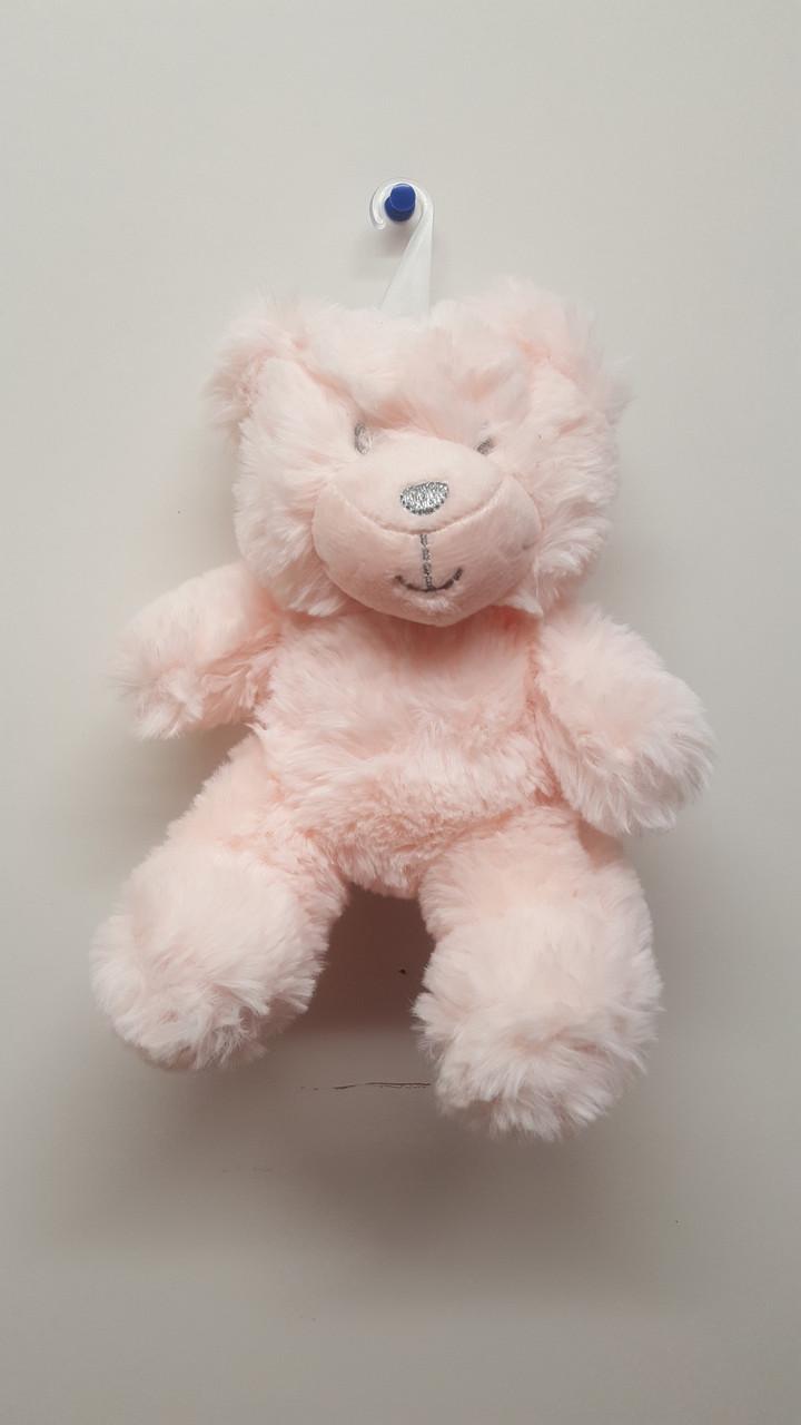 Cotton Candy Plush Bear Rattle - PINK