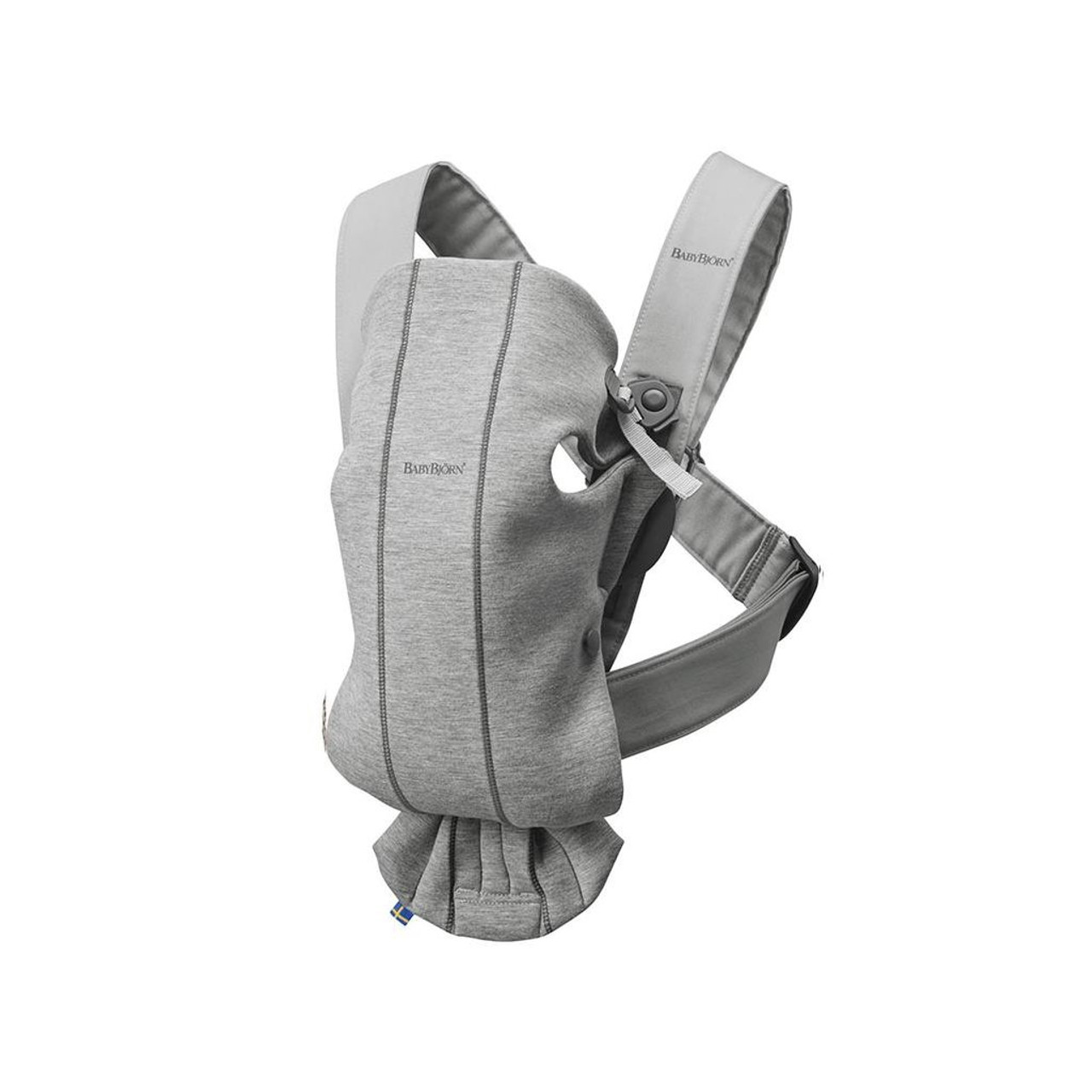Baby Bjorn Carrier Mini 3D Jersey - LIGHT GREY