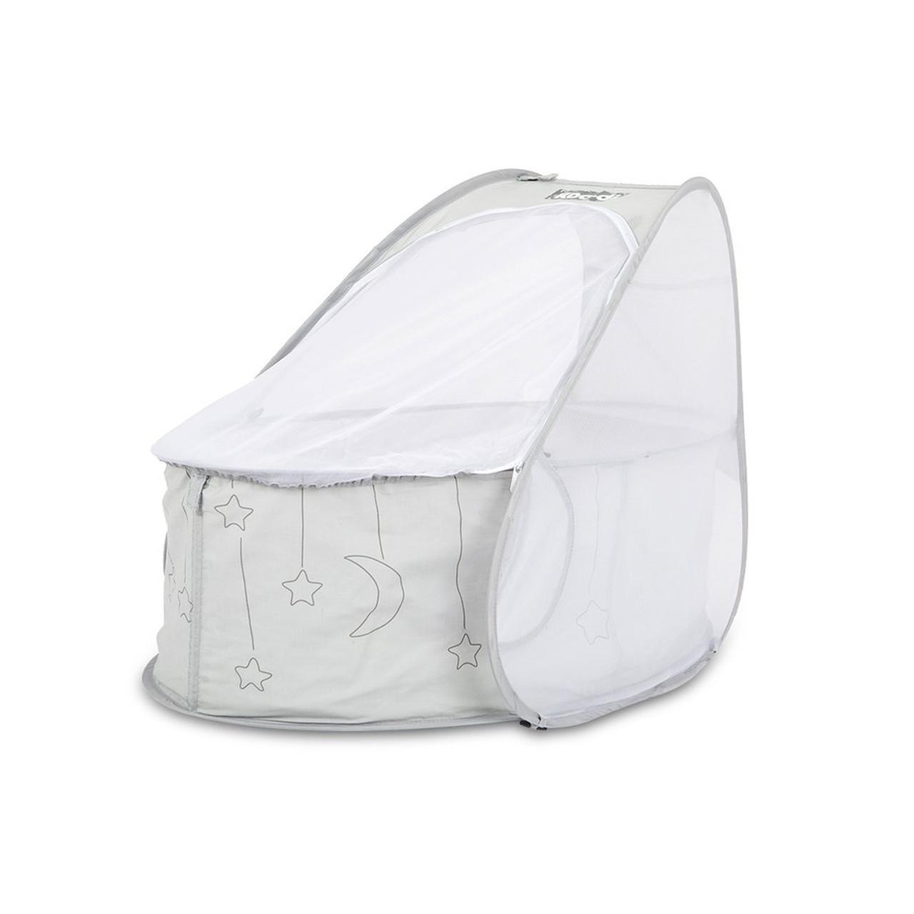 Koodi Newborn Pop Up Travel Bassinet Grey