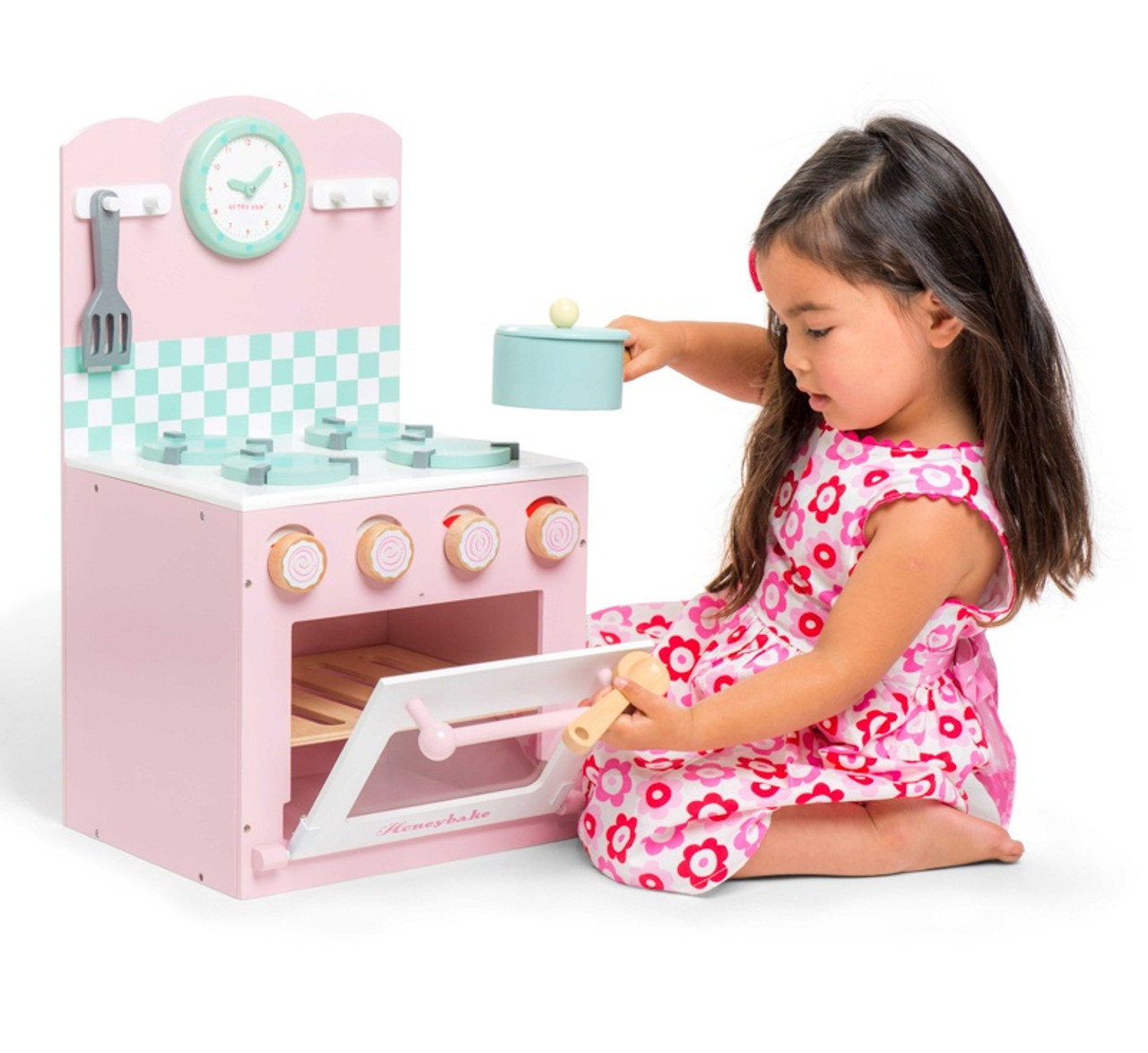 Le Toy Van Honeybake Home Pink Oven & Hob