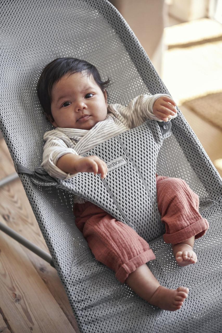 Baby Bjorn Mesh Bliss Bouncer Grey at Baby Barn Discounts