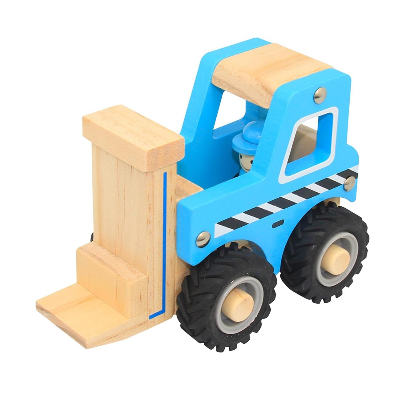 ToysLink Wooden Vehicle - FORKLIFT