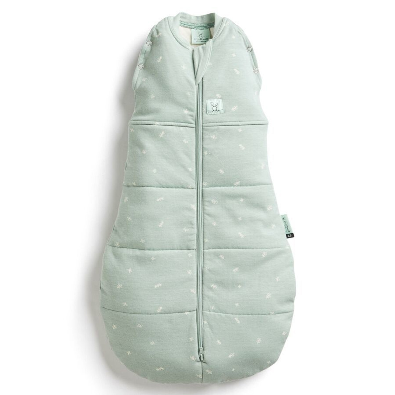 Ergopouch Cocoon Swaddle Bag 2.5 Tog 0-3 Months SAGE at Baby Barn Discounts