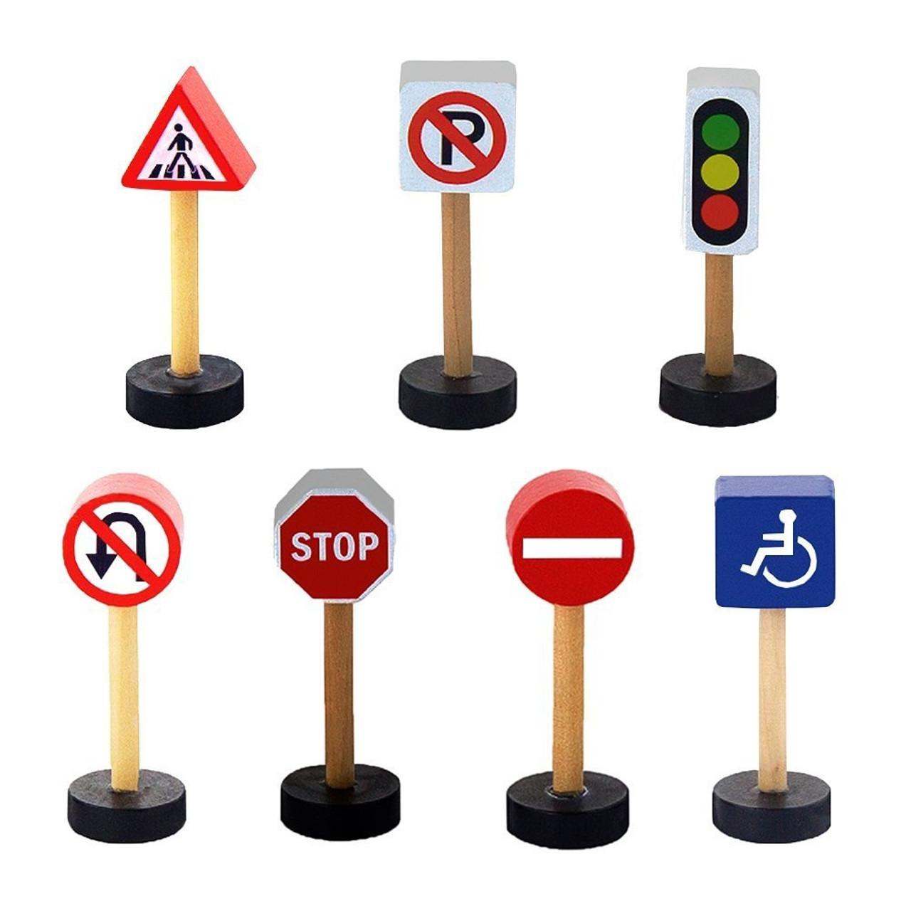 Viga Train Set Traffic Sign
