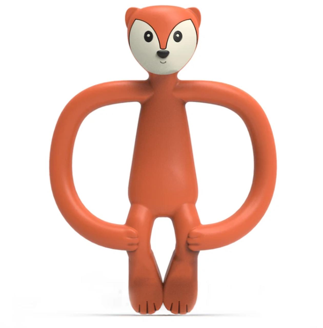 Matchstick Monkey Animal Teether - FOX