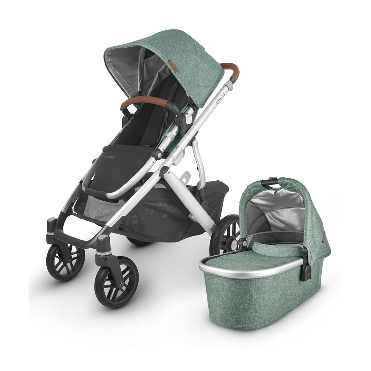 Vista V2 has multi position allows your little one to take naps lie down, or upright.