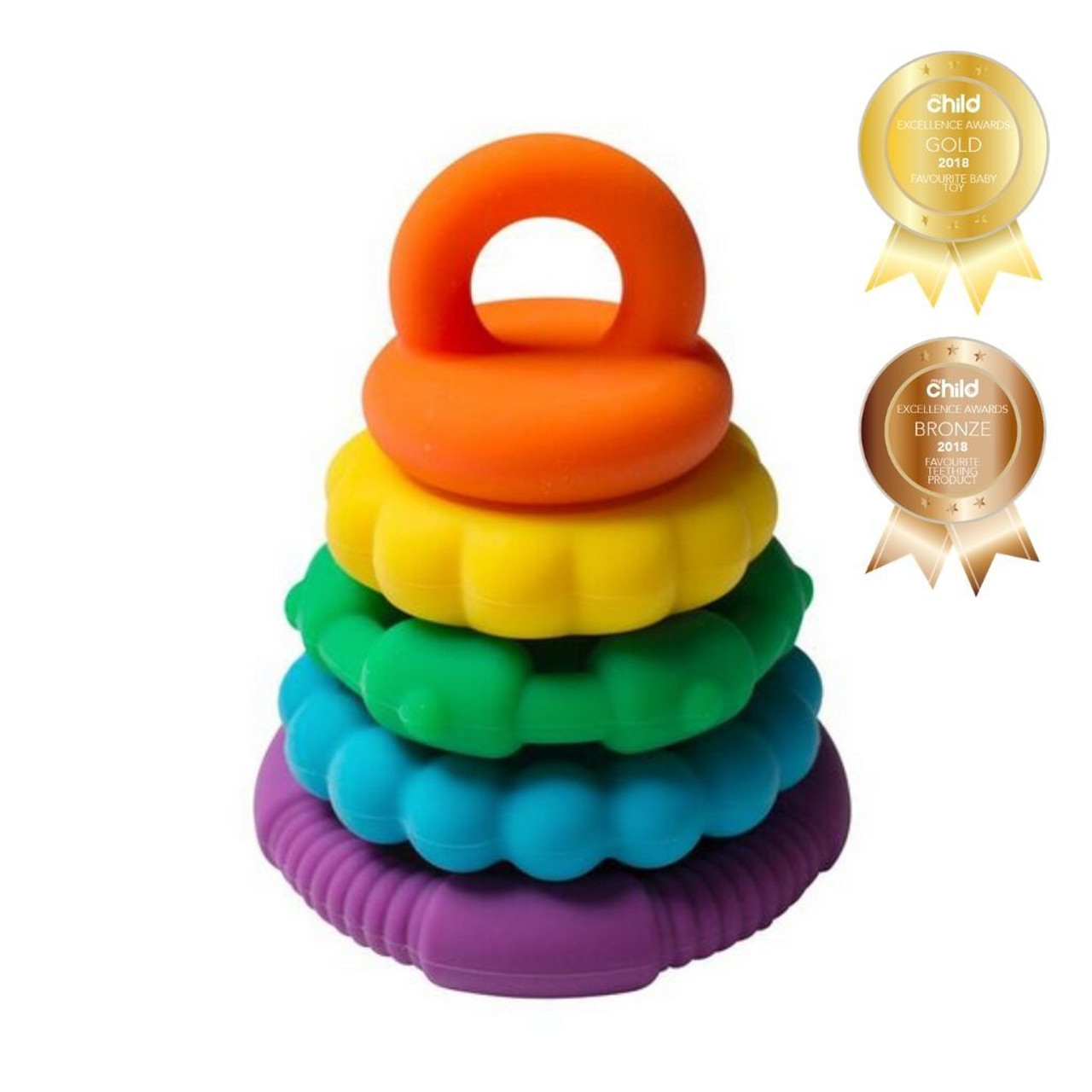 Jellystone Rainbow Stacker - BRIGHT RAINBOW
