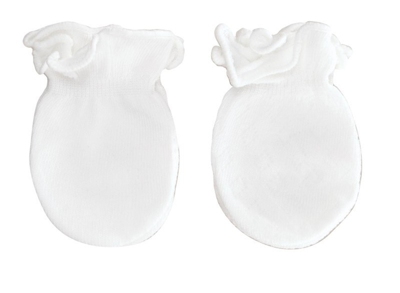 Playette Newborn Essential Mitten 3pk - WHITE at Baby Barn Discounts Playette mittens are a must-have to add to any newborn to toddler's basics wardrobe.