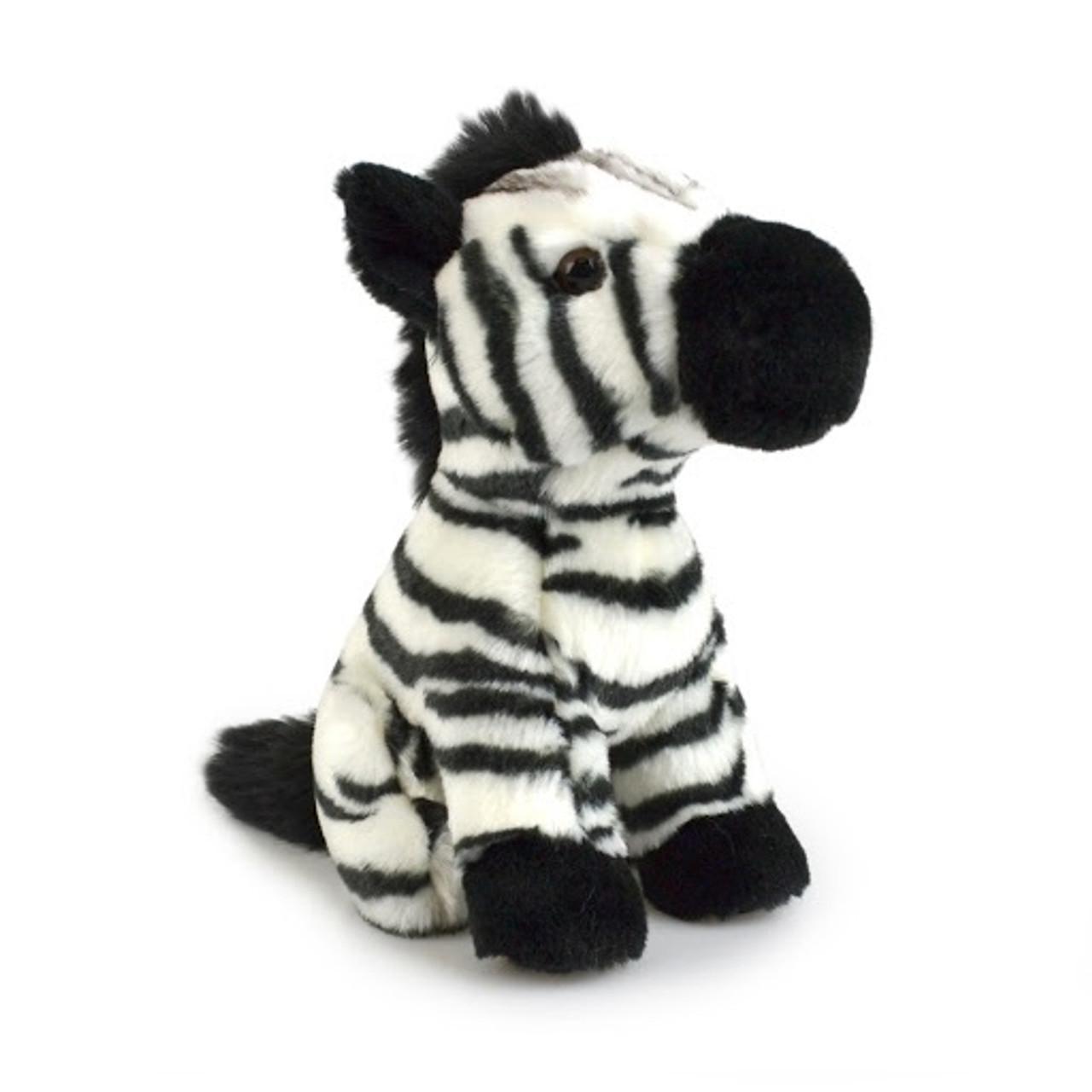 Korimco Lil Friends Plush Toy 18cm - ZEBRA