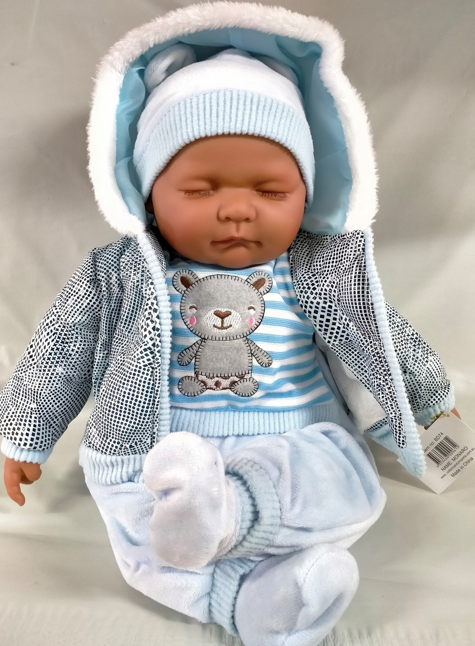 BD74 Monaro Blue Doll