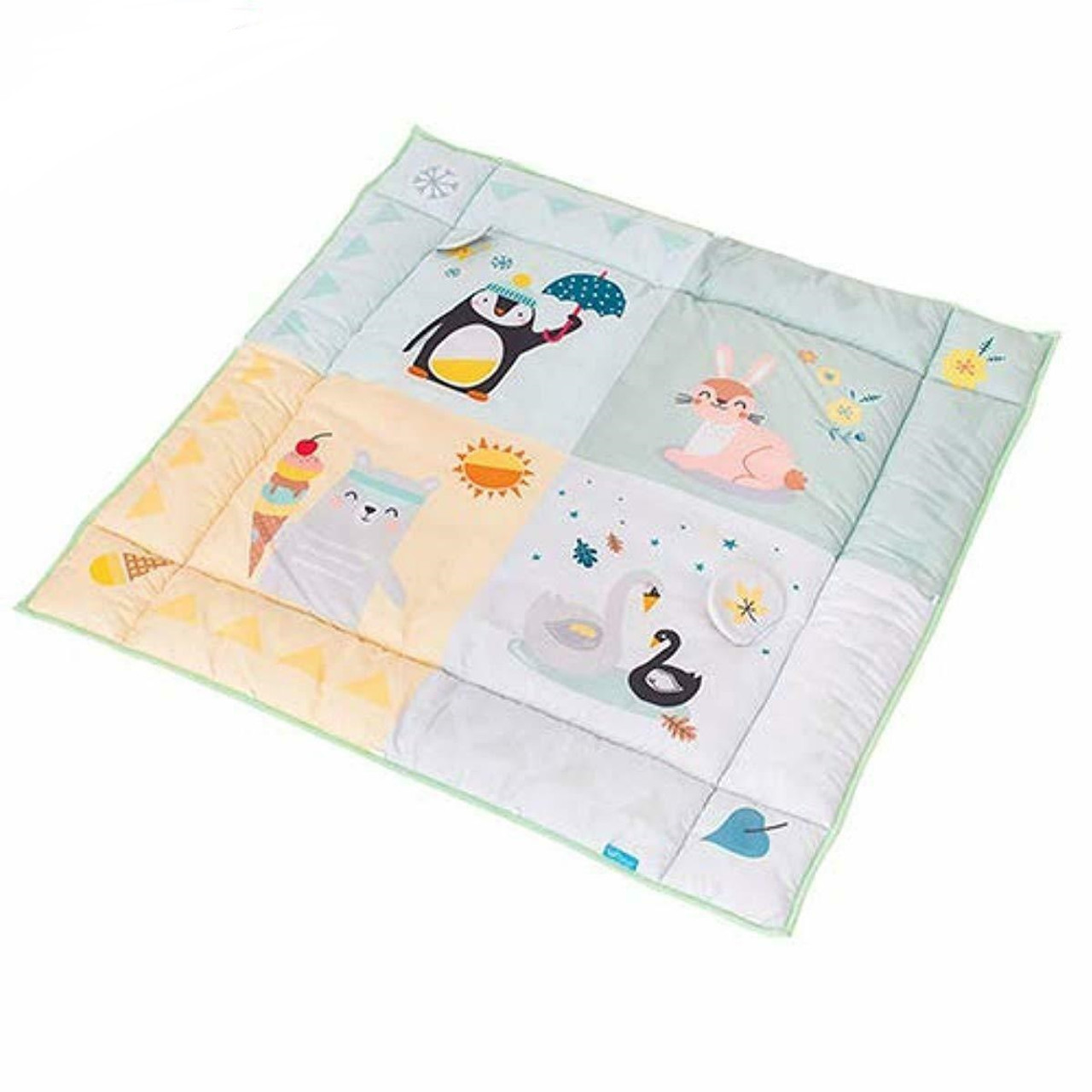 TAF Toys North Pole 4 Season Playmat at Baby Barn Discounts Beautifully illustrated play mat, specially designed to meet the developmental needs of newborn babies.