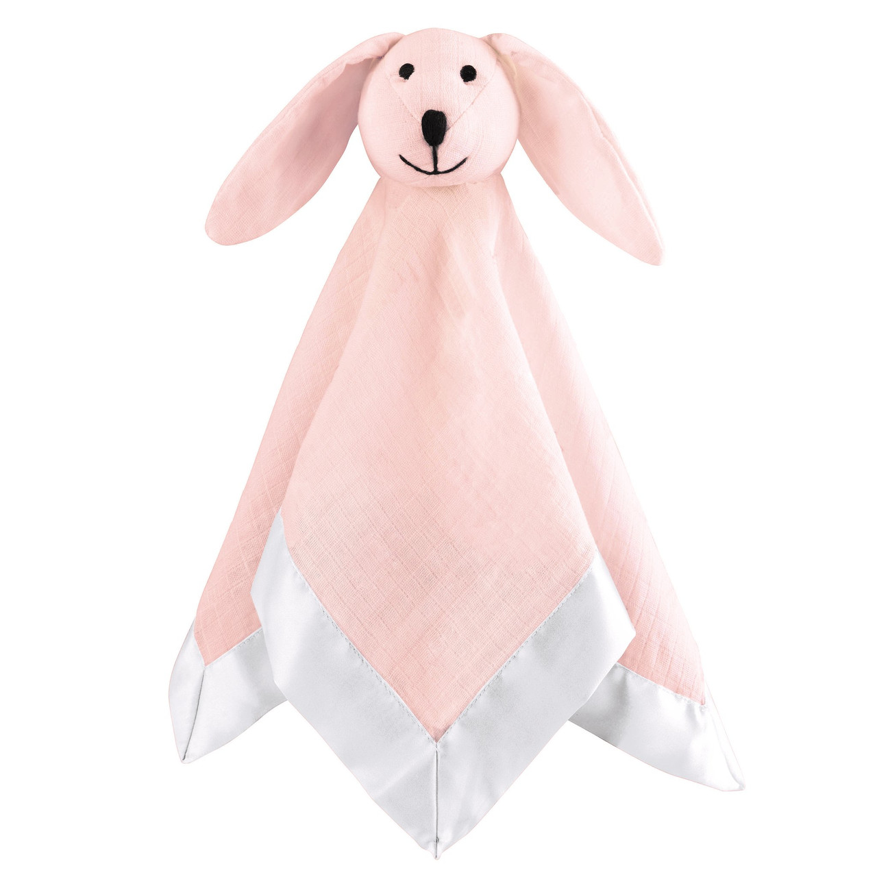 Aden + Anais Muslin Security Blanket Musy Mate Lovey - Solid Pink