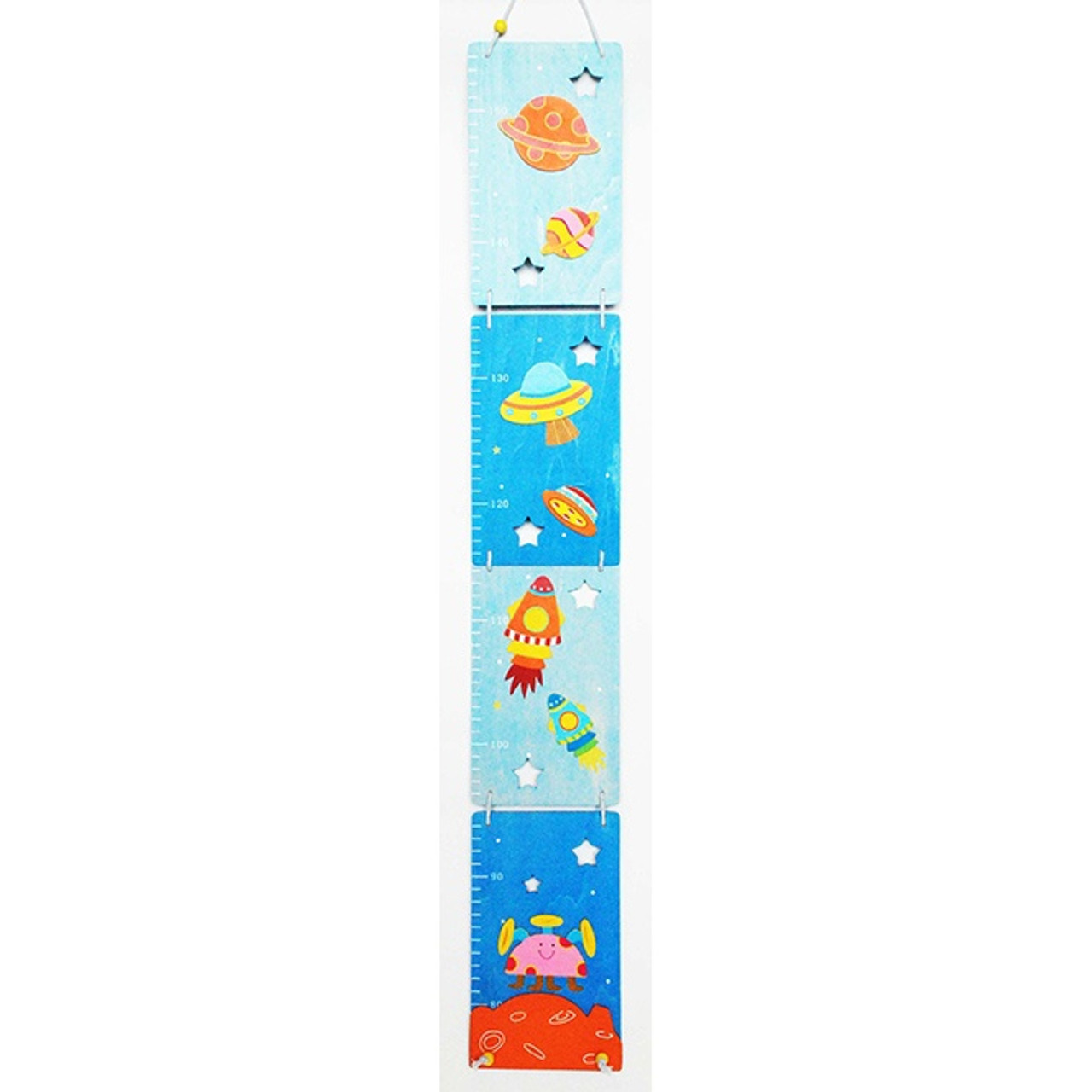 Toyslink Space Growth Chart at Baby Barn Discounts This Space themed growth chart features rocket ships, stars, planets and even aliens!