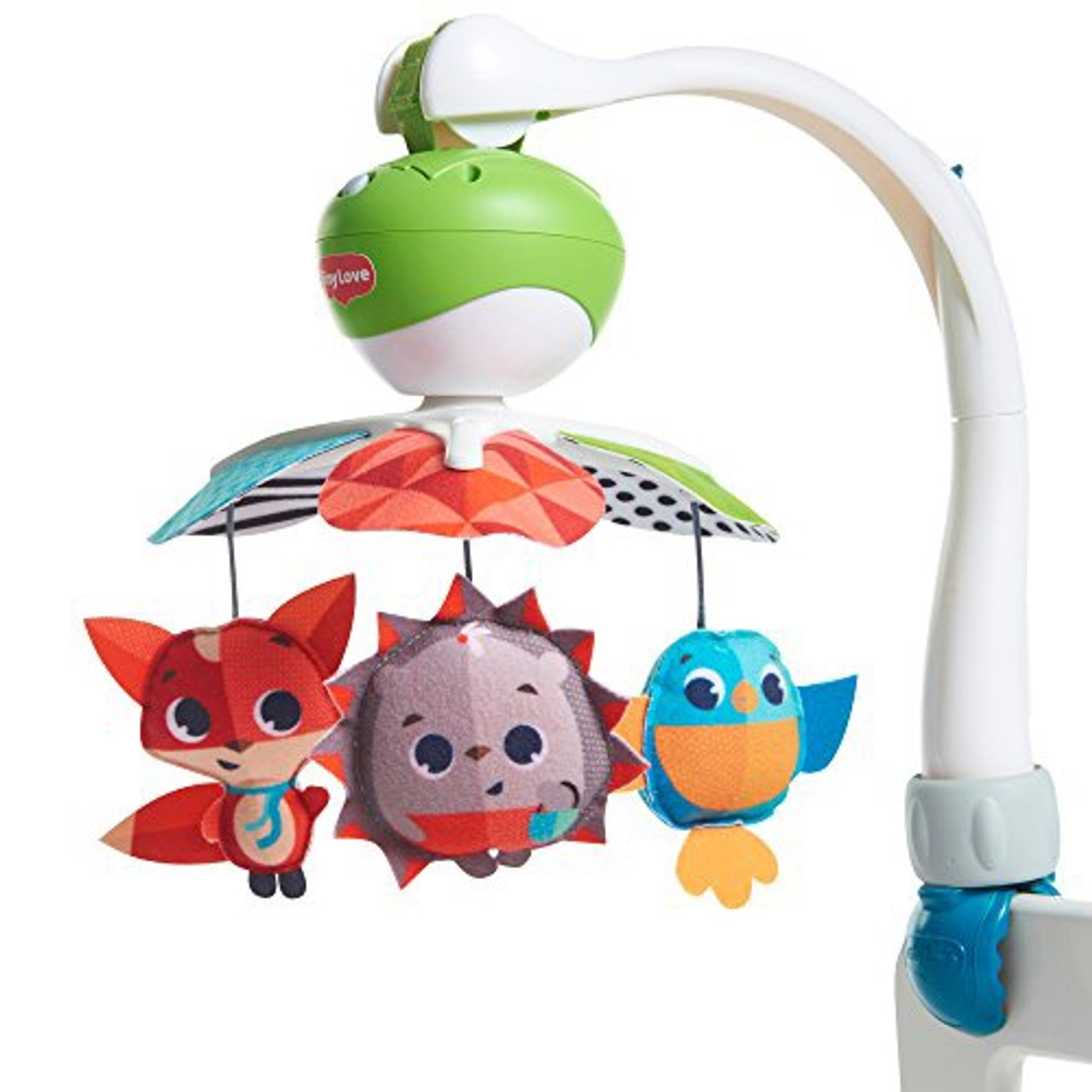 Tiny Love Take Along Mobile MEADOW DAYS at Baby Barn Discounts Tiny Love colorful and vibrant Take-Along Mobile for on the go fun.