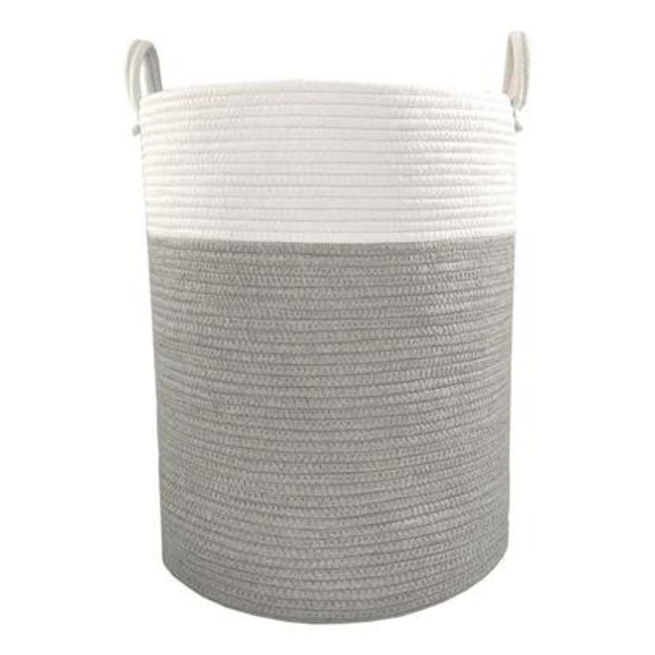 Living Textiles 100% Cotton Rope Hamper at Baby Barn Discounts