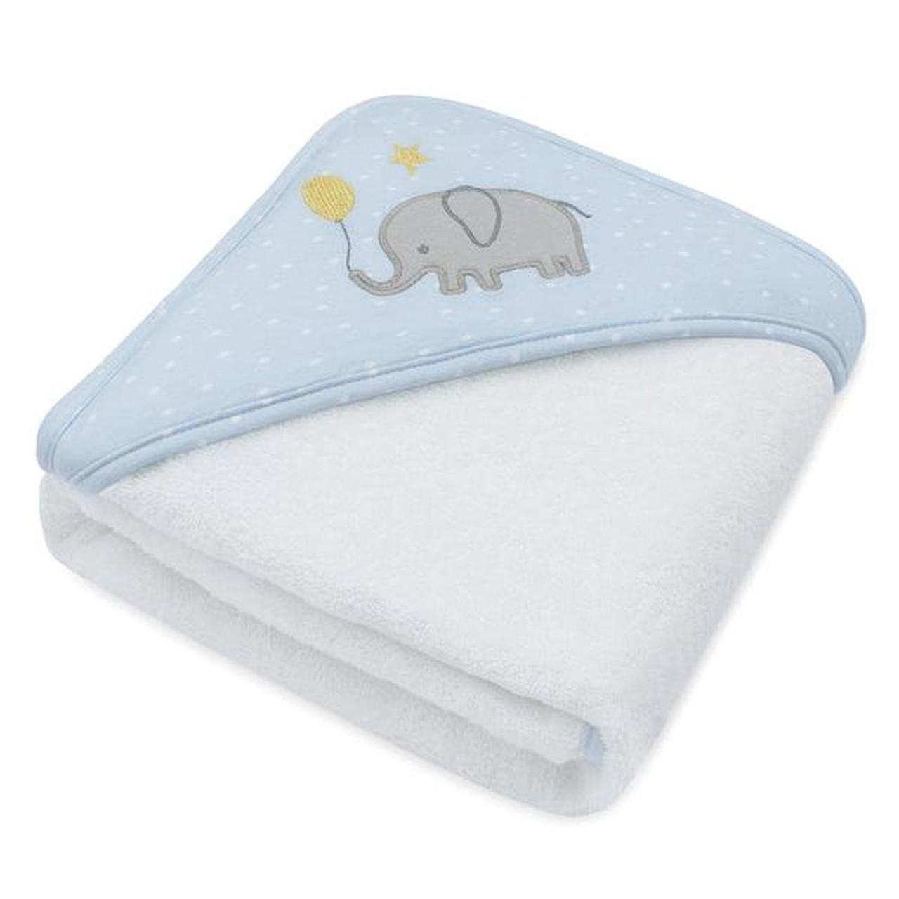 Living Textiles Hooded Towel Mason Elephant at Baby Barn Discounts