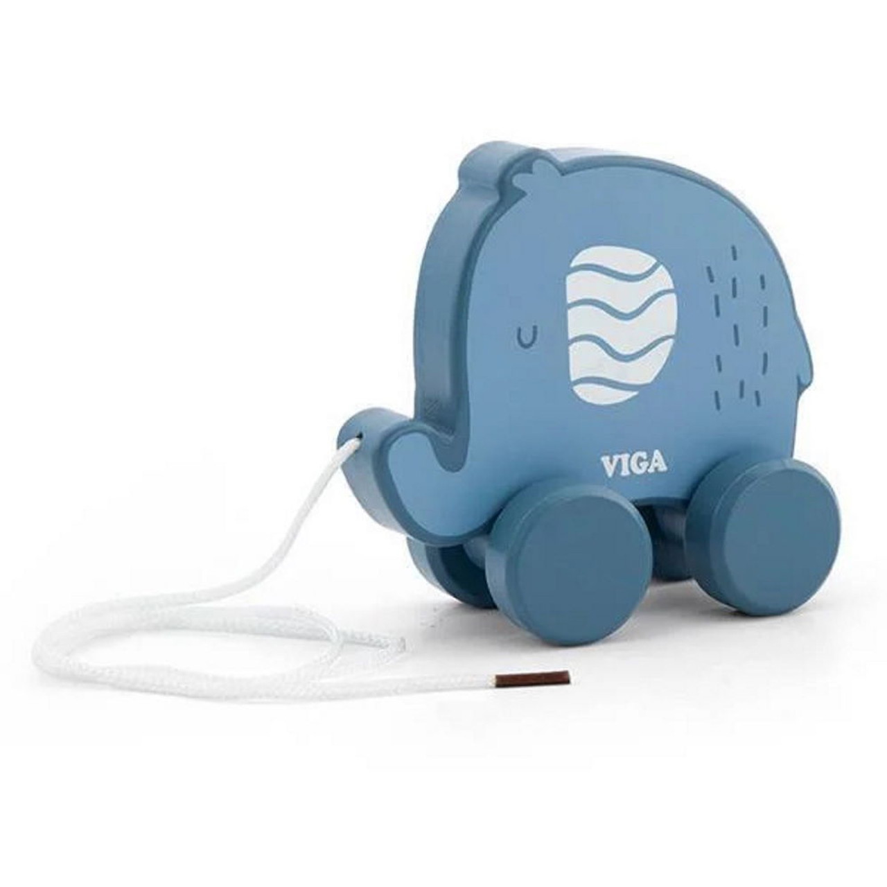 Viga PolarB Pull Along Animals at Baby Barn Discounts A sturdy wooden elephant with a long pull along cord, great for imagination and motor skills.