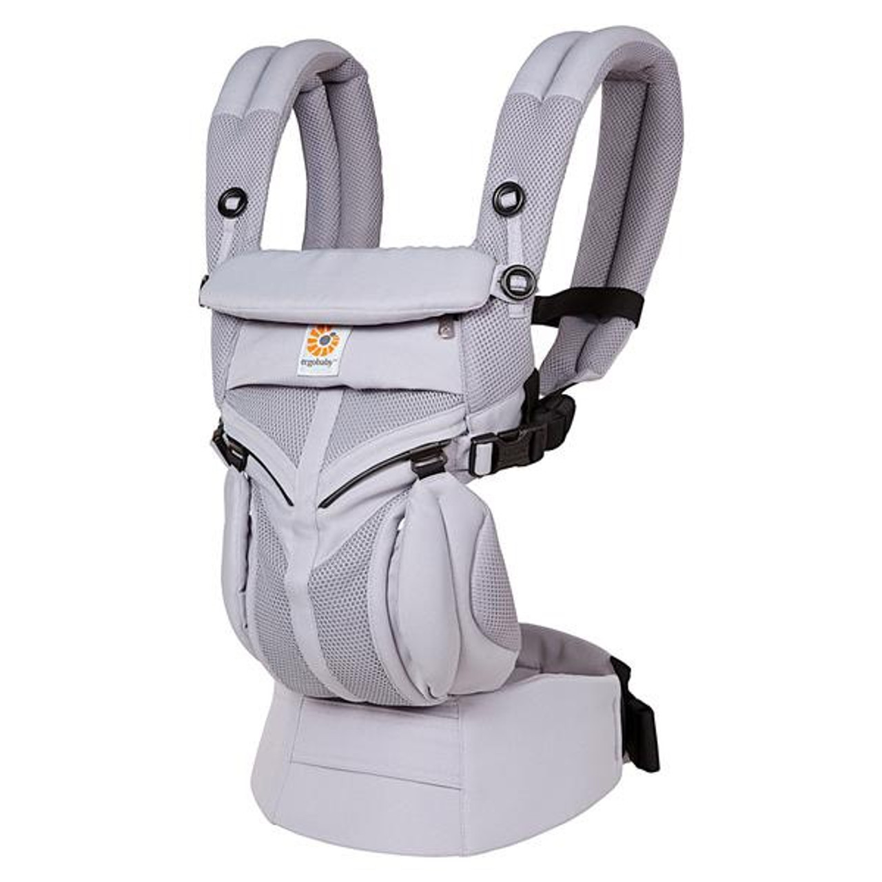 Ergobaby OMNI 360 Baby Carrier All in One Cool Air Mesh LILAC GREY at Baby Barn Discounts