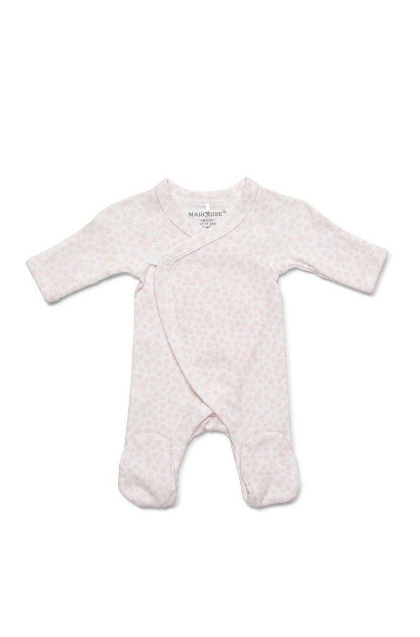 Marquise Preemie Footed Growsuit Pink at Baby Barn Discounts An essential addition to your newborns wardrobe, this ultra soft growsuit is made with the smallest babies in mind.