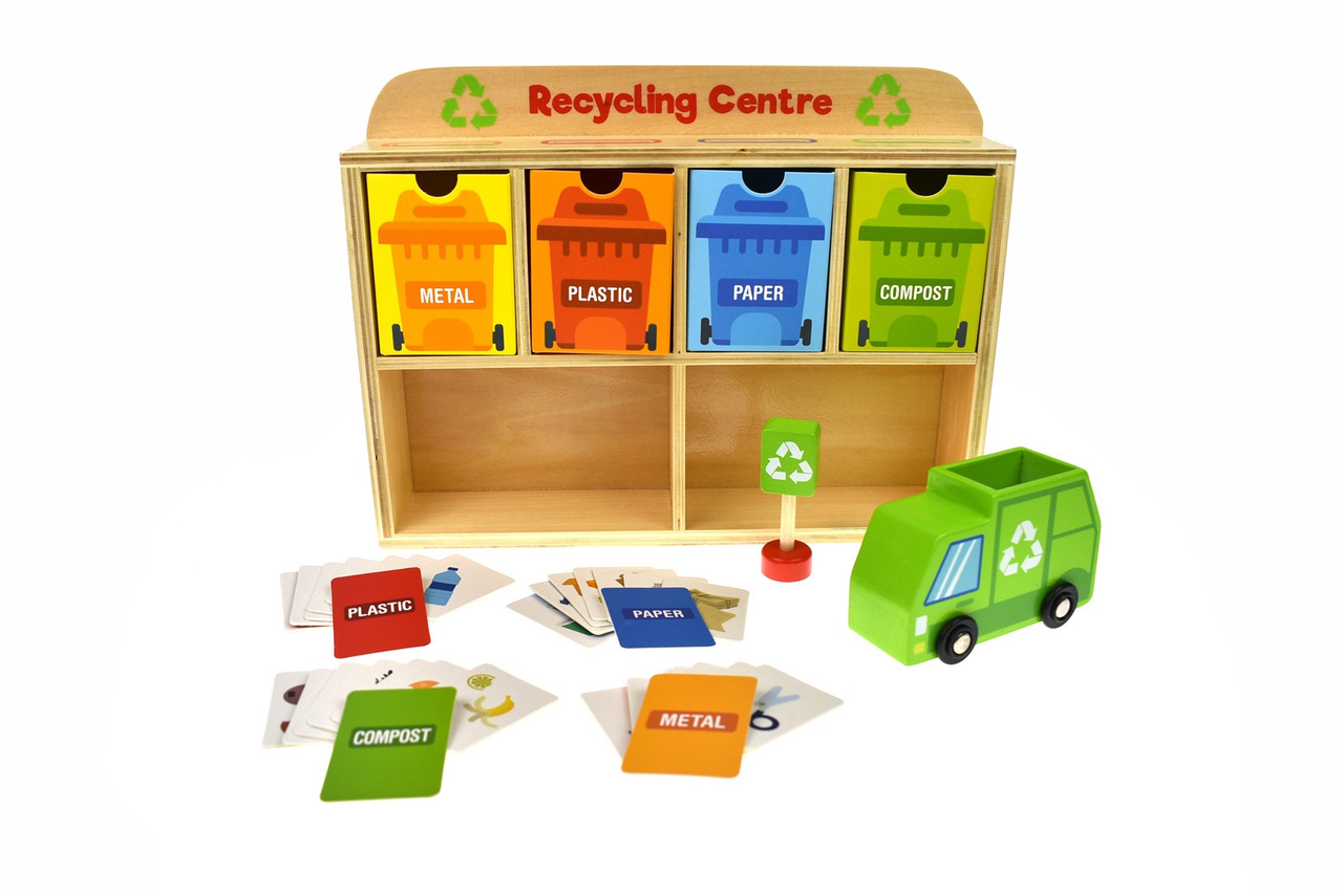 Tooky Toy Recycling Centre TY635A at Baby Barn Discounts Tooky toy recycling centre is a great way to teach kid about recycling.