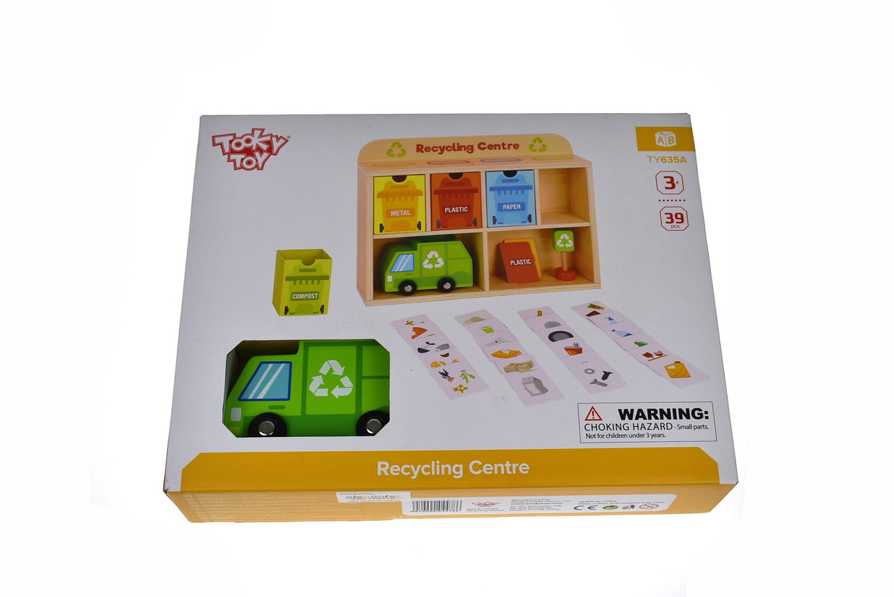 Tooky Toy Recycling Centre TY635A at Baby Barn Discounts