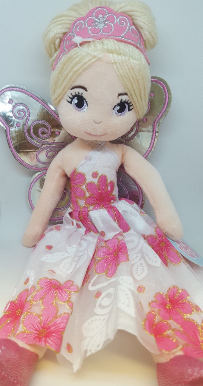 Cotton Candy Fairy Ballerina Plush PINK at Baby Barn Discounts