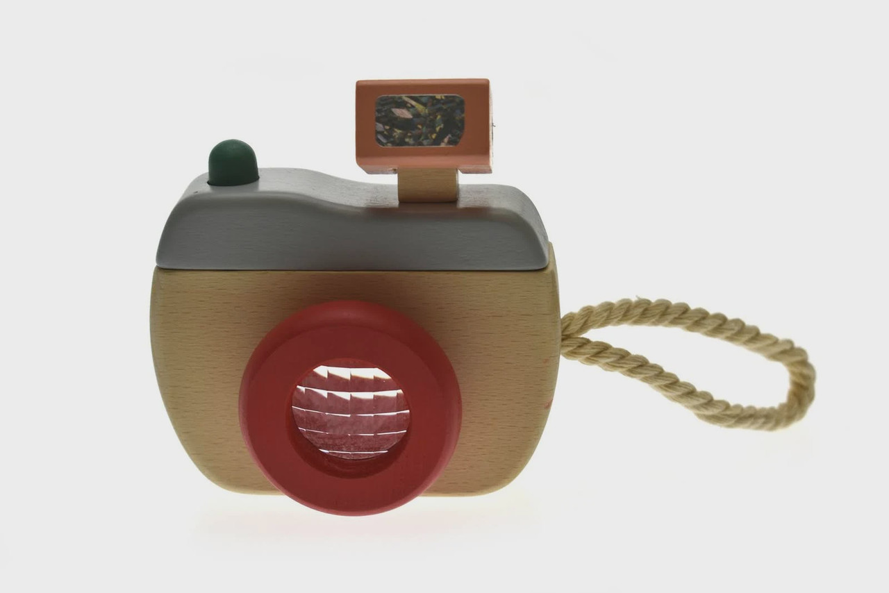 Kaper Kidz Wooden Camera at Baby Barn Discounts A charming wooden camera for the smallest of photographers