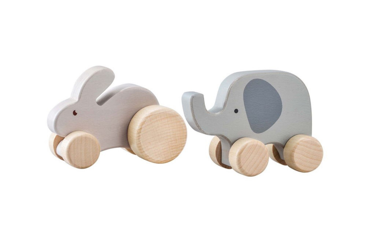 Kaper Kidz Calm and Breezy Wooden Animal Car at Baby Barn Discounts A modern update to traditional push cars made from high quality wood and baby safe paint.