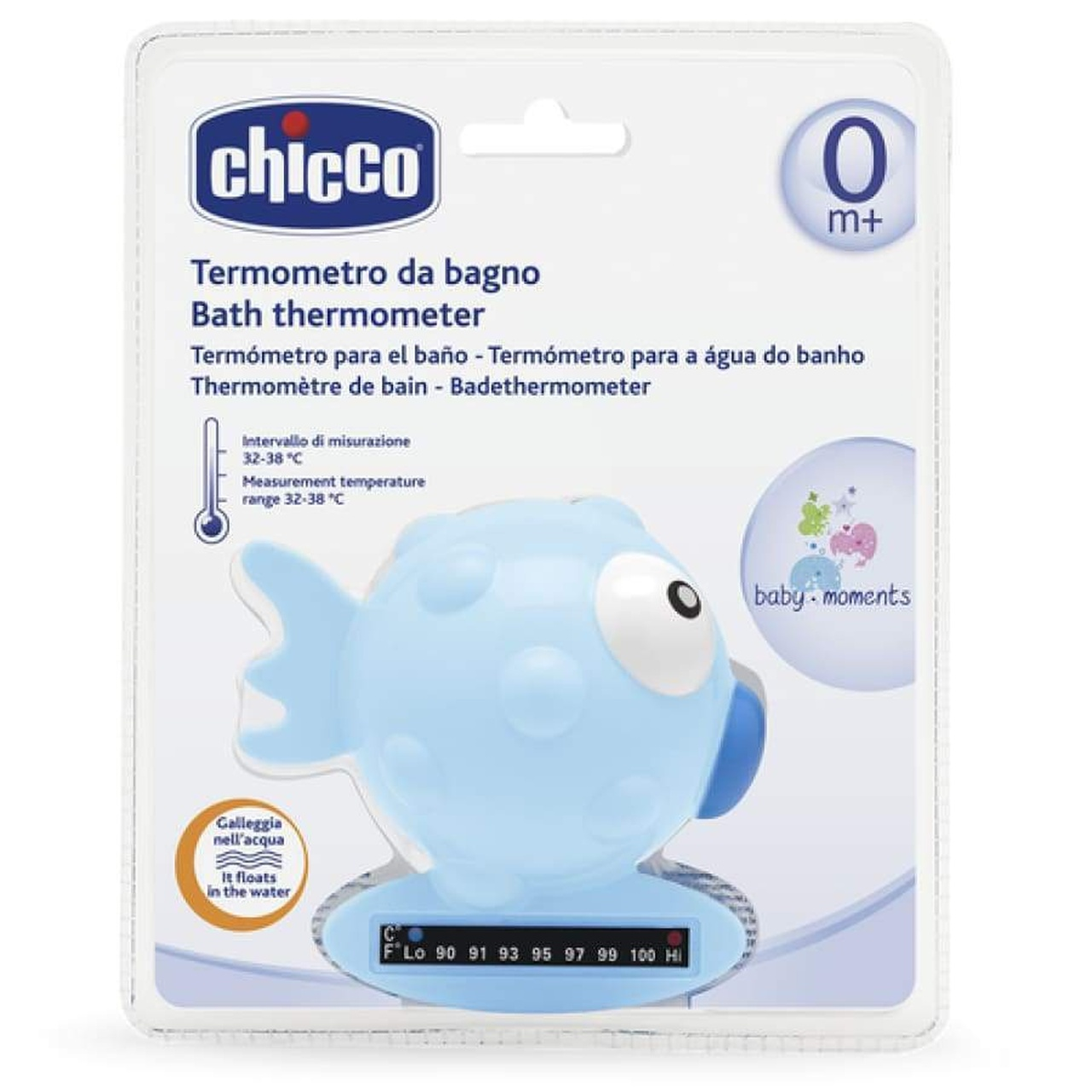 Chicco Bath Thermometer Fish Design at Baby Barn Discounts Chicco bath thermometer range from 32 - 38 degrees Celsius.