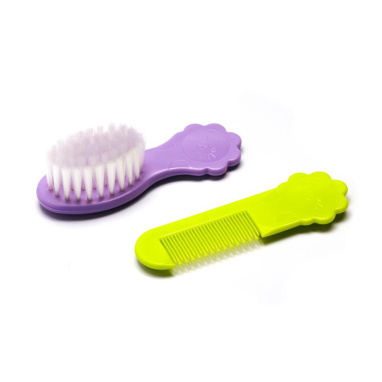 Pigeon Comb & Brush Set at Baby Barn Discounts Pigeon comb & brush is specially designed to be gentle on your baby.