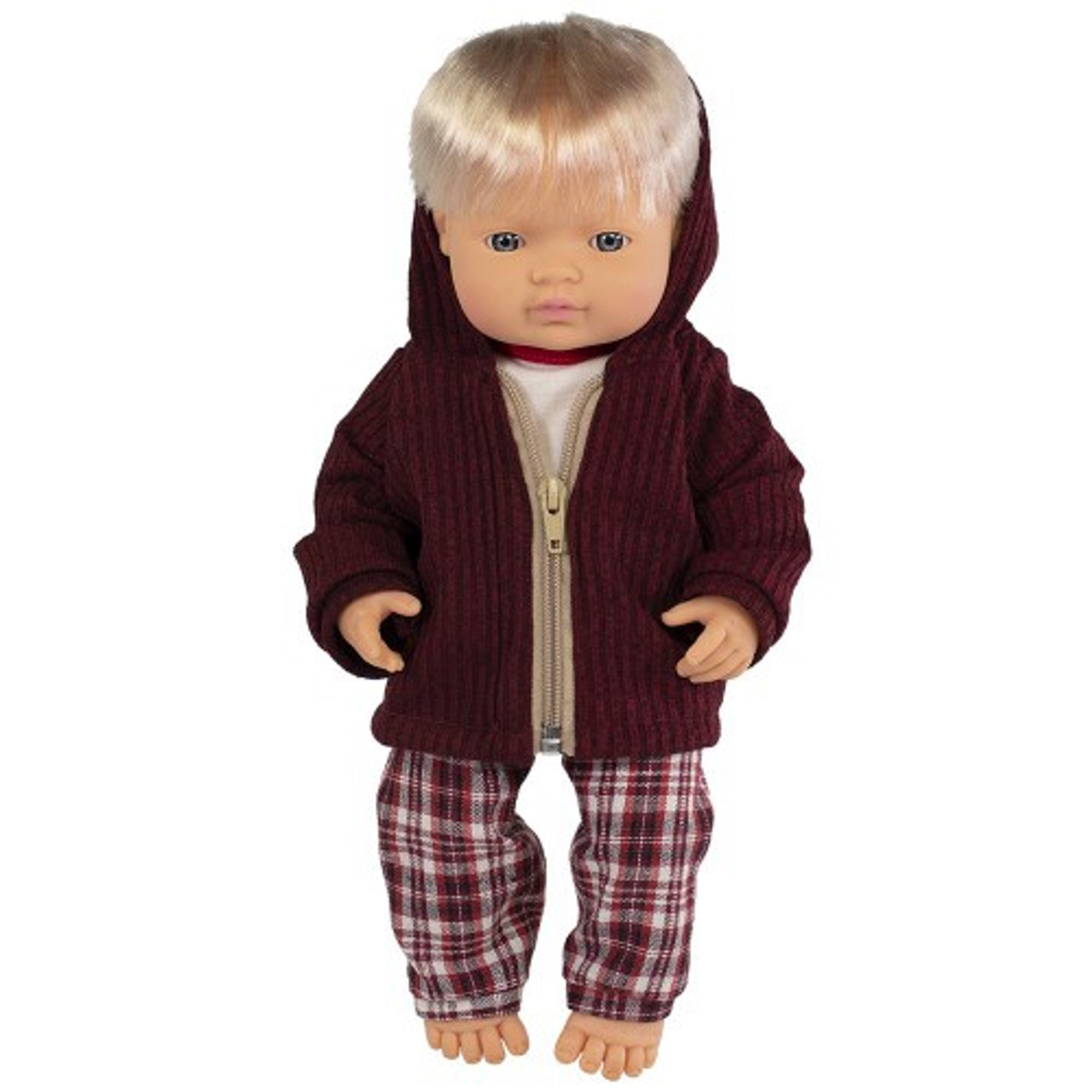 Miniland Doll Anatomically Correct Baby & Outfit Boxed 38 cm (UNDRESSED) - Caucasian Boy | Baby Barn Discounts
