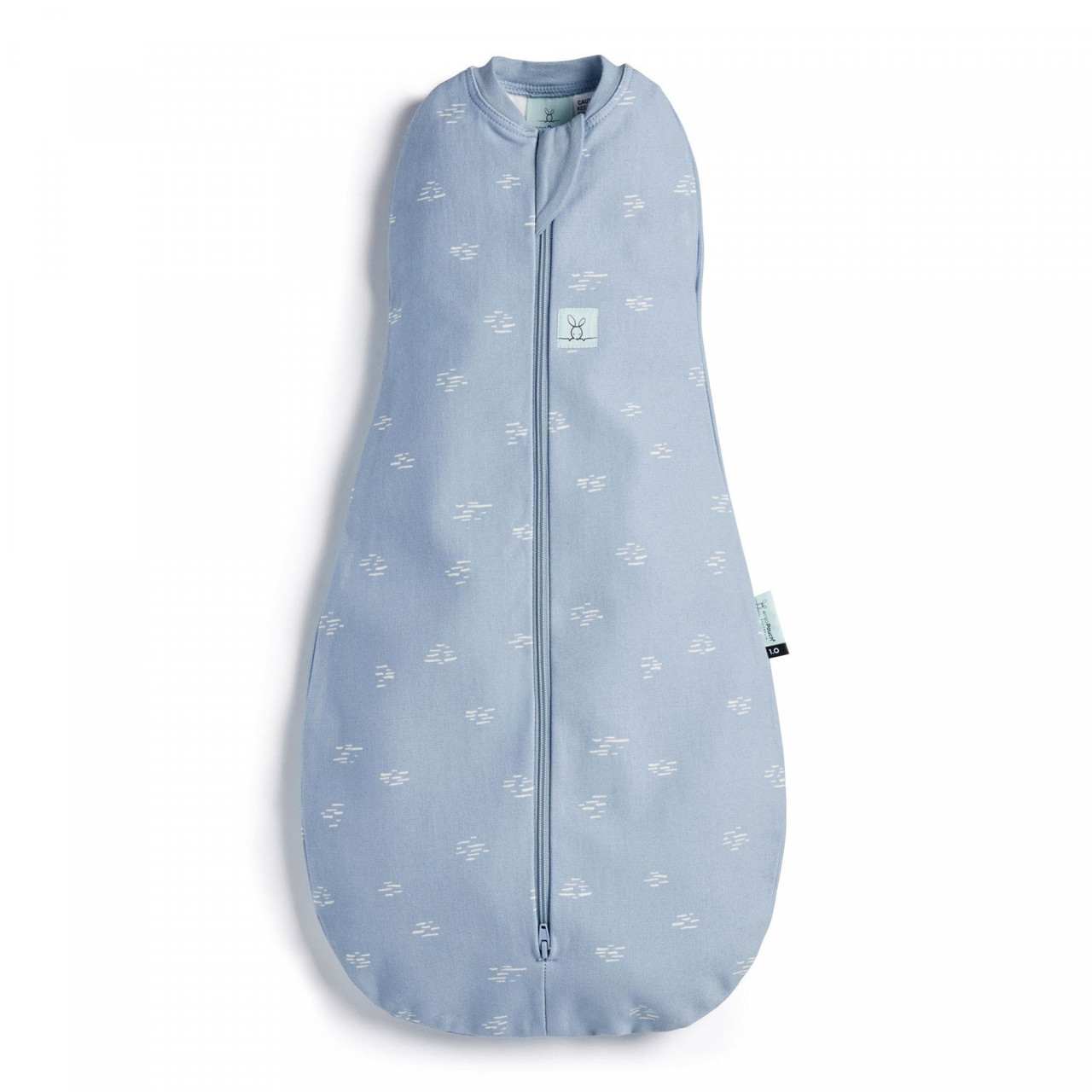 Ergopouch Cocoon Swaddle Bag 1.0 tog 0-3 Months RIPPLE at Baby Barn Discounts ergoPouch cocoon 1.0 tog is an escape-proof swaddle which converts to a sleeping bag.