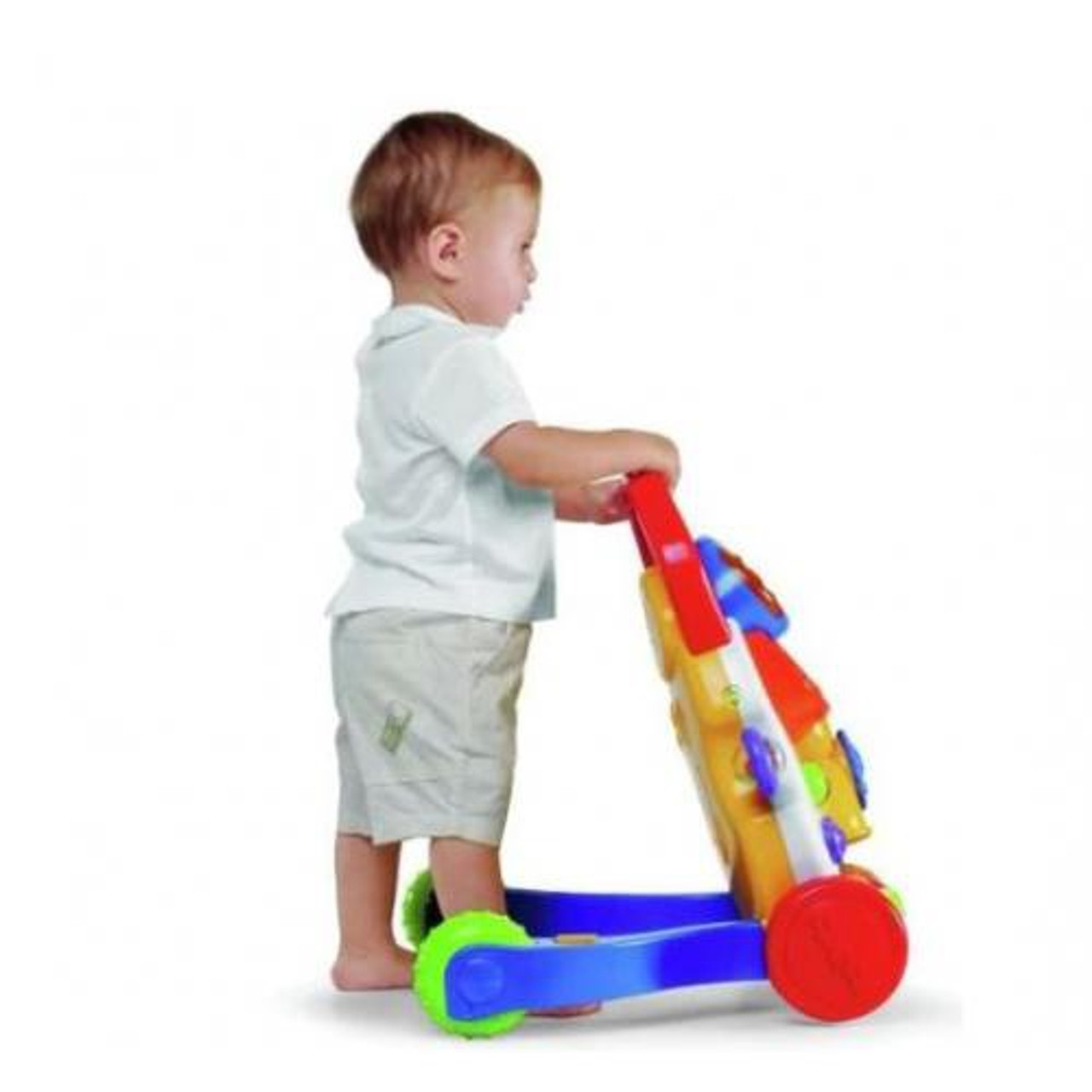 Chicco Baby Steps Activity Walker at Baby Barn Discounts Train your little one to take their first steps while also encouraging interactive play with the Chicco Baby Steps Activity Walker.
