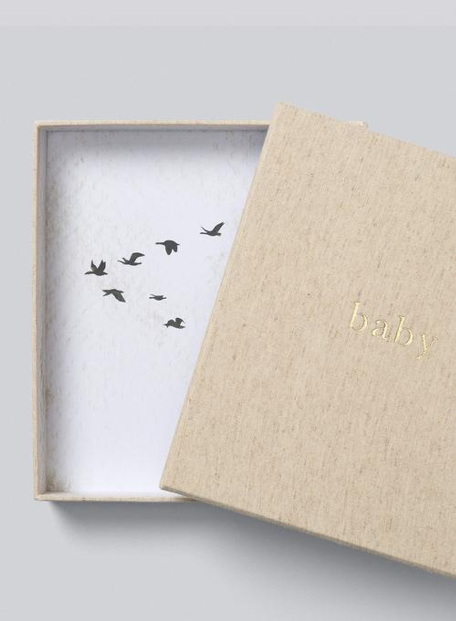 Write to Me Baby Journal Your First Five Years Oatmeal at Baby Barn Discounts Record the first step, first words, first tooth, first birthday and many more moments with this beautiful linen bound Write to me baby journal.