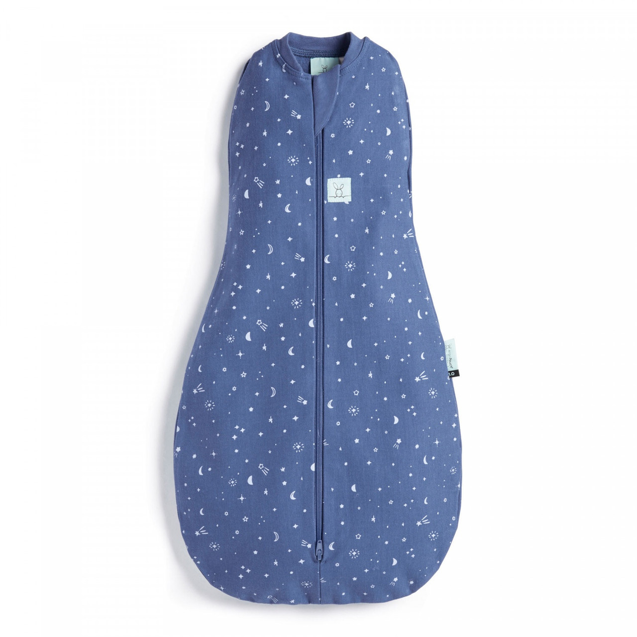 Ergopouch Cocoon Swaddle Bag 1.0 tog 6-12 Months  NIGHT SKY at Baby Barn Discounts ErgoPouch cocoon 1.0 tog is an escape-proof swaddle which converts to a sleeping bag.