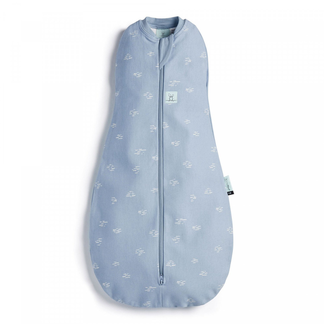 Ergopouch Cocoon Swaddle Bag 1.0 tog 6-12 Months RIPPLE at Baby Barn Discounts ErgoPouch cocoon 1.0 tog is an escape-proof swaddle which converts to a sleeping bag.