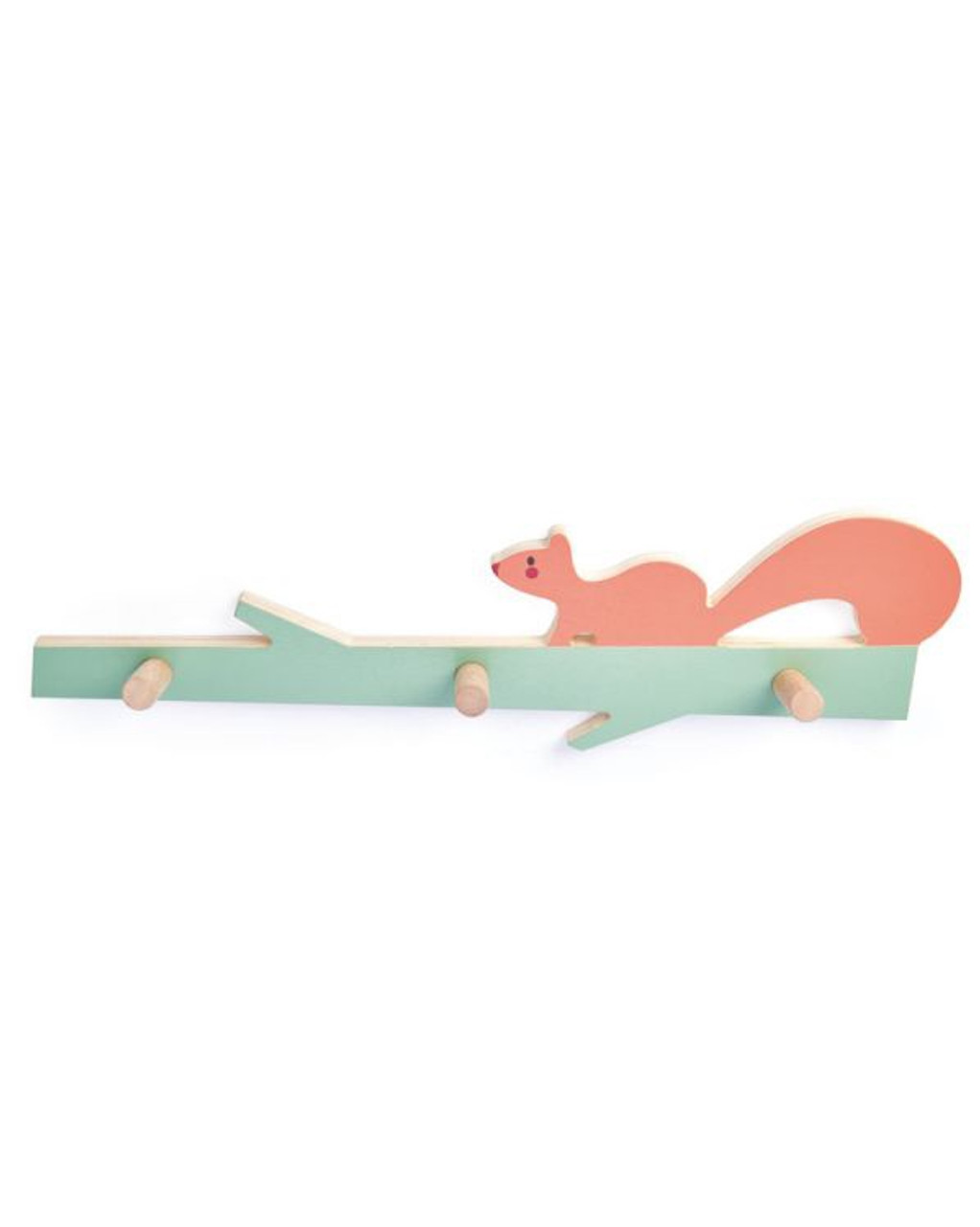 Tender Leaf Toys Forest Squirrel Wooden Hooks at Baby Barn Discounts A sweet 3 peg coat hook with a squirrel design from Tender Leaf Toys.