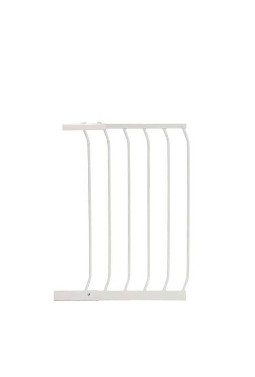 Dreambaby Chelsea Standard 45cm Gate Extension WHITE at Baby Barn Discounts Dreambaby Standard Chelsea Gate extension size 45cm.