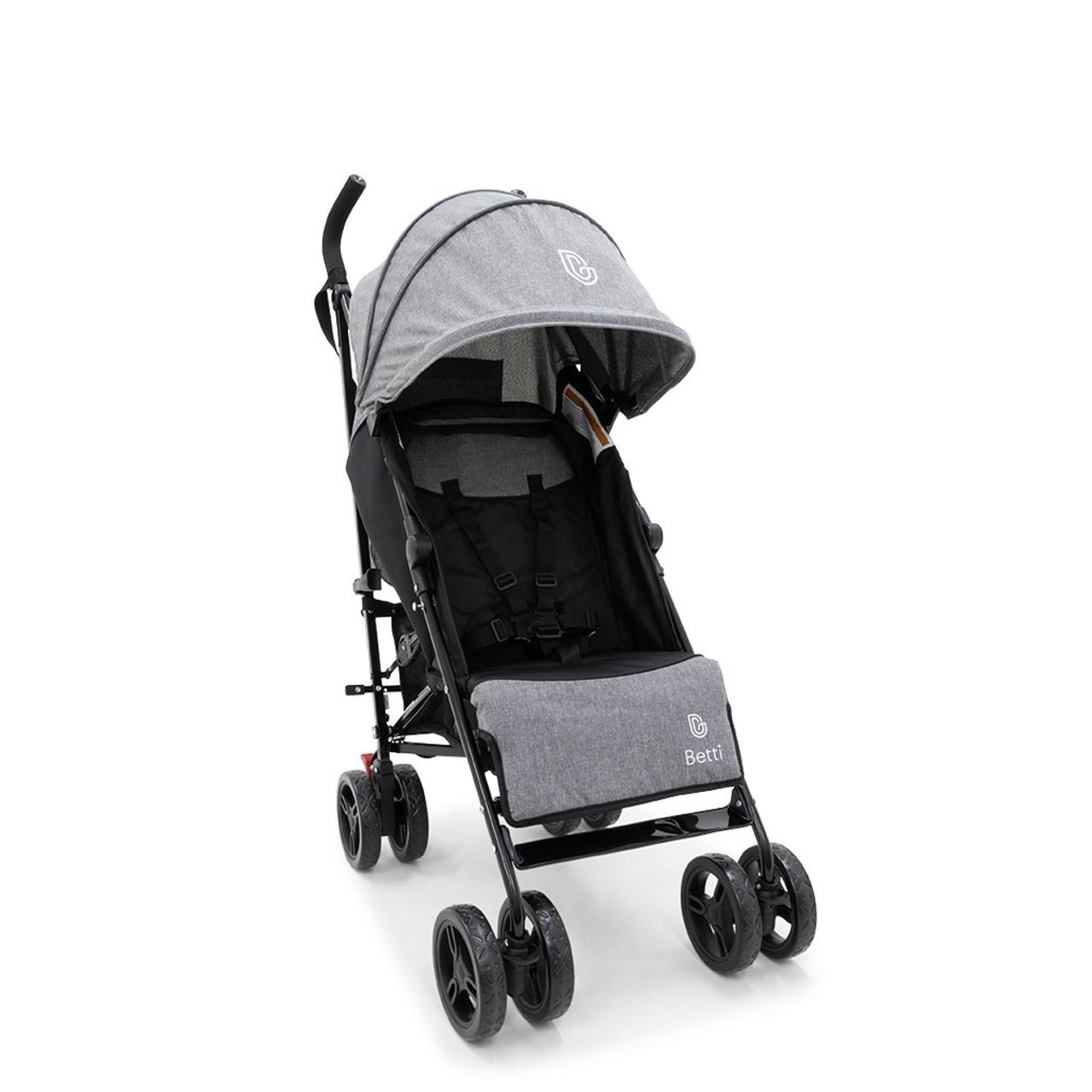 Betti Gran Umbrella Stroller SLATE at Baby Barn Discounts Betti Gran stroller is practical, compact and lightweight, this is the perfect stroller to take baby.