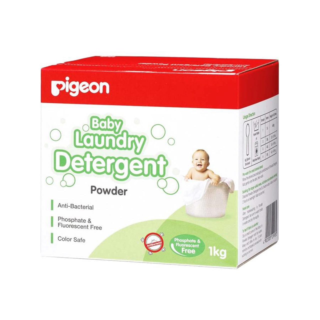 Pigeon Baby Laundry Detergent Powder 1kg at Baby Barn Discounts Pigeon Baby Laundry Detergent is a powder laundry detergent to clean baby clothes and nappies.