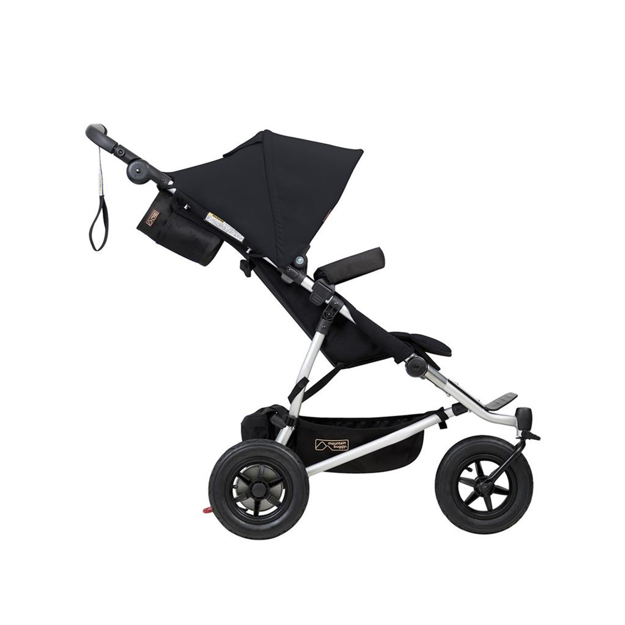 Mountain Buggy Duet V3.2 BLACK at Baby Barn Discounts Mountain Buggy Duet 2020 version double pram with polyester fabric.