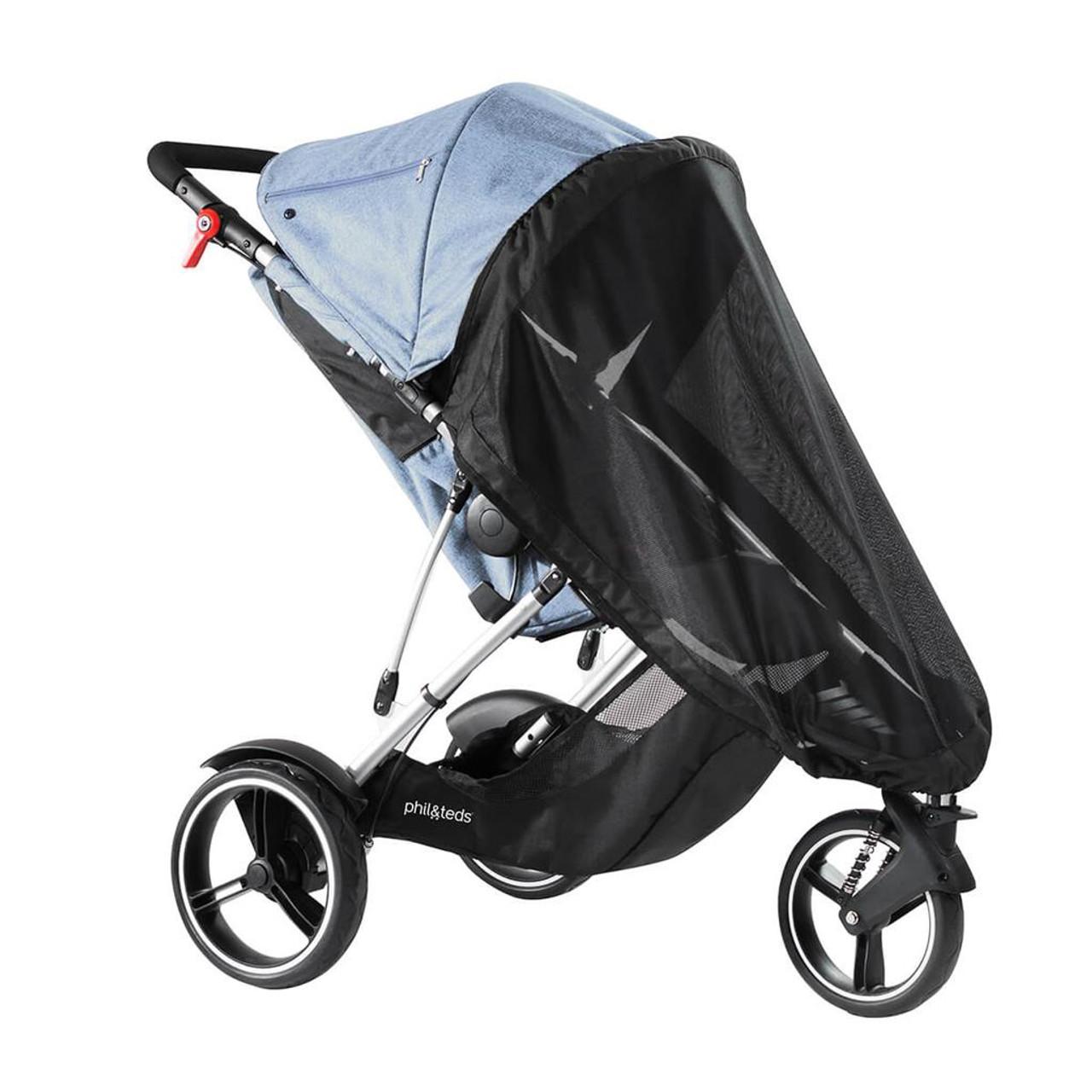 Phil & Teds Sport Dot Dash V6 Mesh Cover at Baby Barn Discounts Phil & Teds custom fit sun mesh cover for the Sport Dot & Dash stroller 2019+