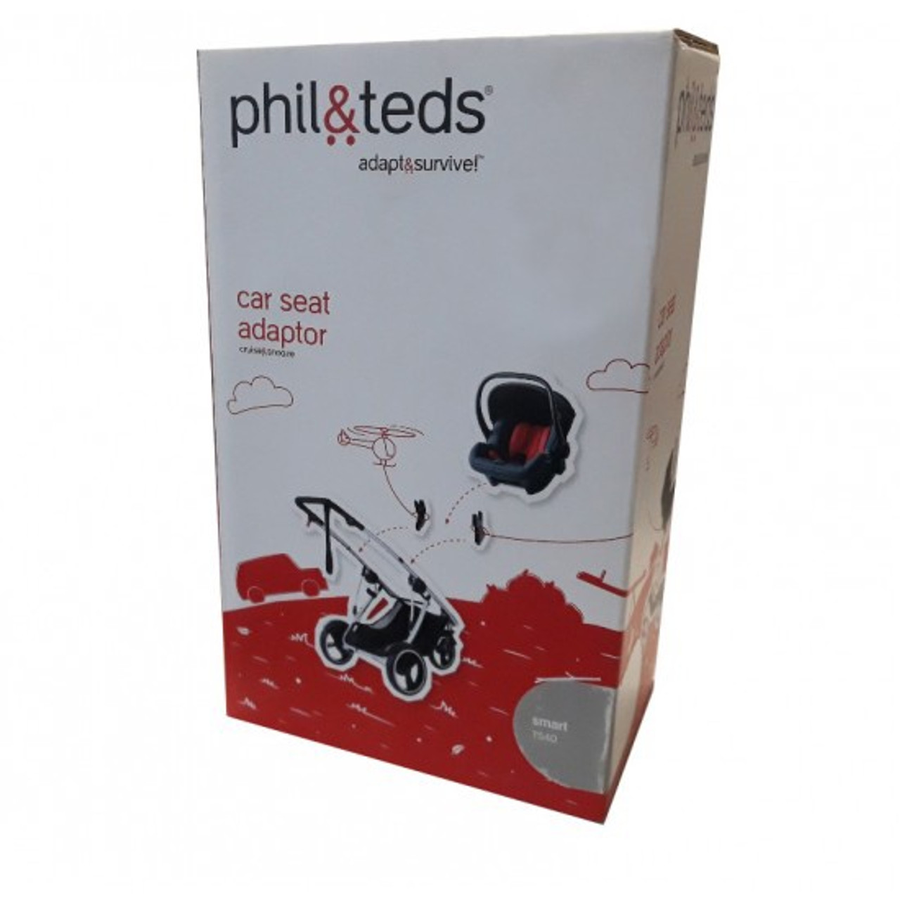 Phil & Teds Smart TS40 Car Seat Adaptor at Baby Barn Discounts Phil & Teds TS40 adaptor would suit the Smart stroller to Maxi Cosi capsule.
