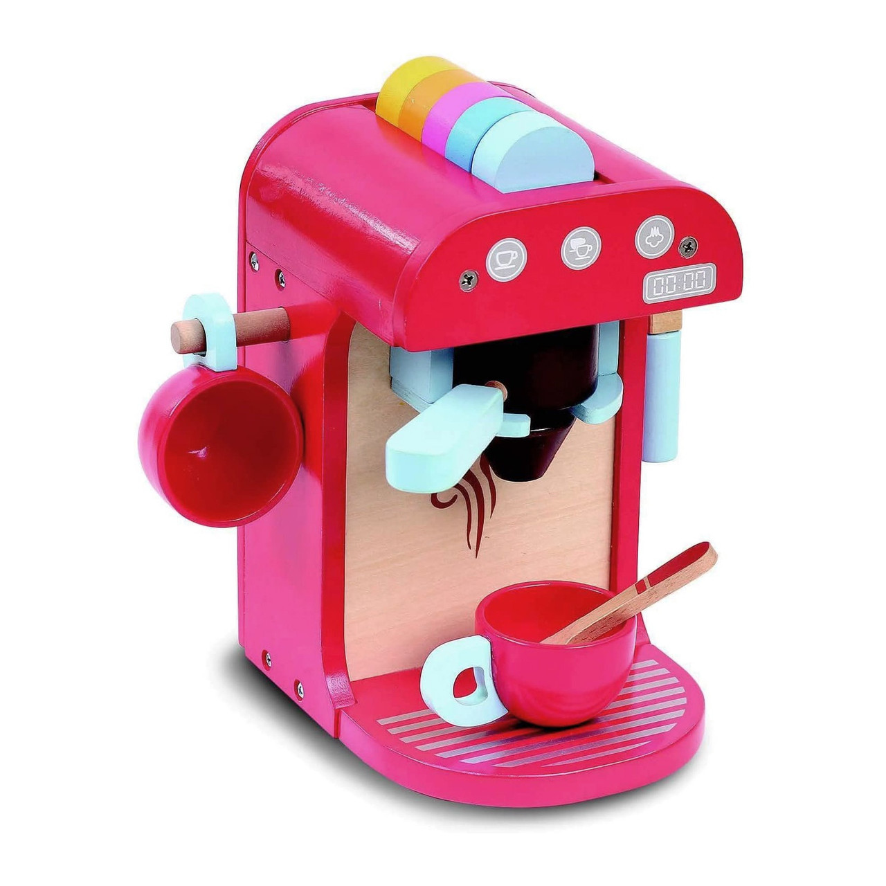 Bubbadoo Wooden Toy Coffee Machine   Baby Barn Discounts For any young barista, the Bubbadoo Wooden Coffee Machine is a great addition to your child's roleplay time.