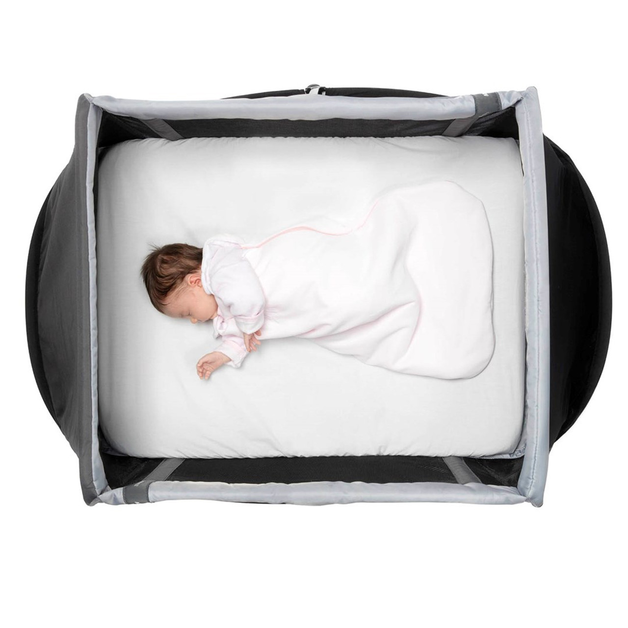 Aeromoov Instant Travel Cot GREY ROCK at Baby Barn Discounts You can set up and pack up the AeroMoov instant travel cot in seconds!