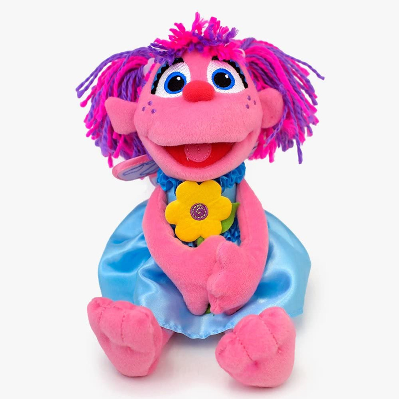 Sesame Street Abby Cadabby Holding Flower 28cm