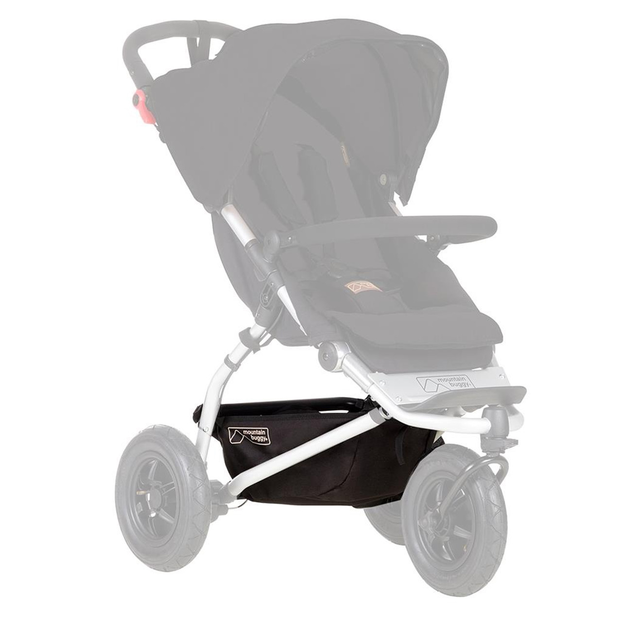 Mountain Buggy Swift Parcel Gear Tray 2015+ at Baby Barn Discounts Replacement gear tray (parcel tray) for the NEW Mountain Buggy Swift stroller (manufactured 2015).
